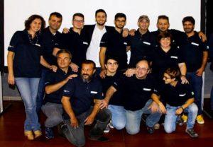 Ecco il team della solar car Archimede 1.0 quasi al completo.